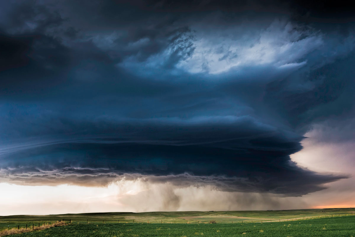 Supercell I. North Platte, Nebraska – Eric Meola