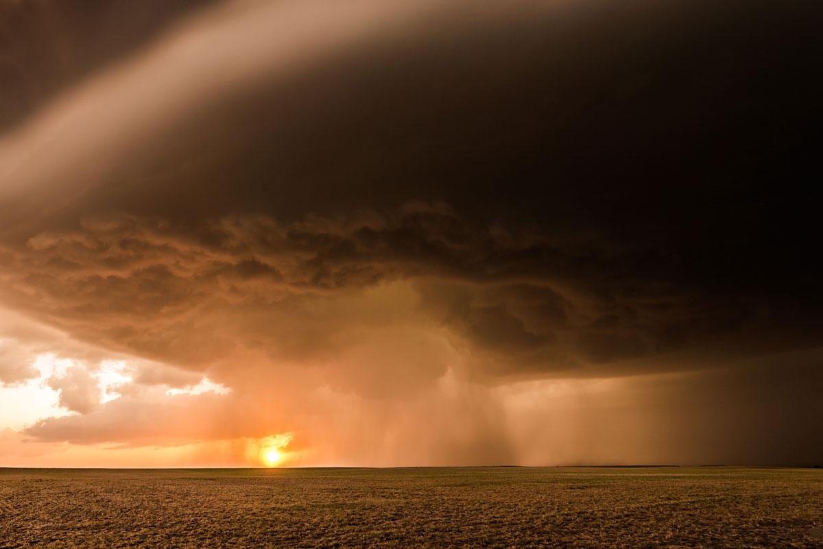 Supercell V. Arriba, Colorado – Eric Meola