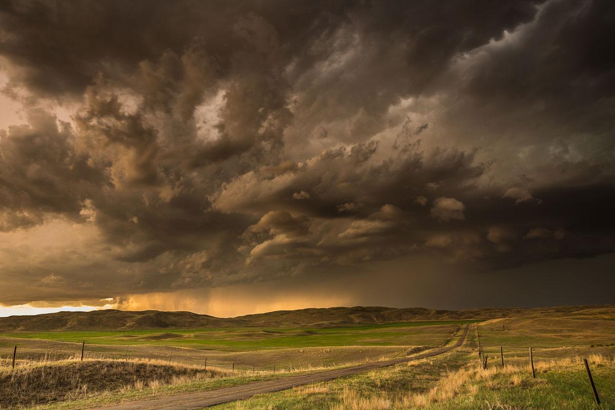 Storm Clouds. Hyannis, Nebraska – Eric Meola