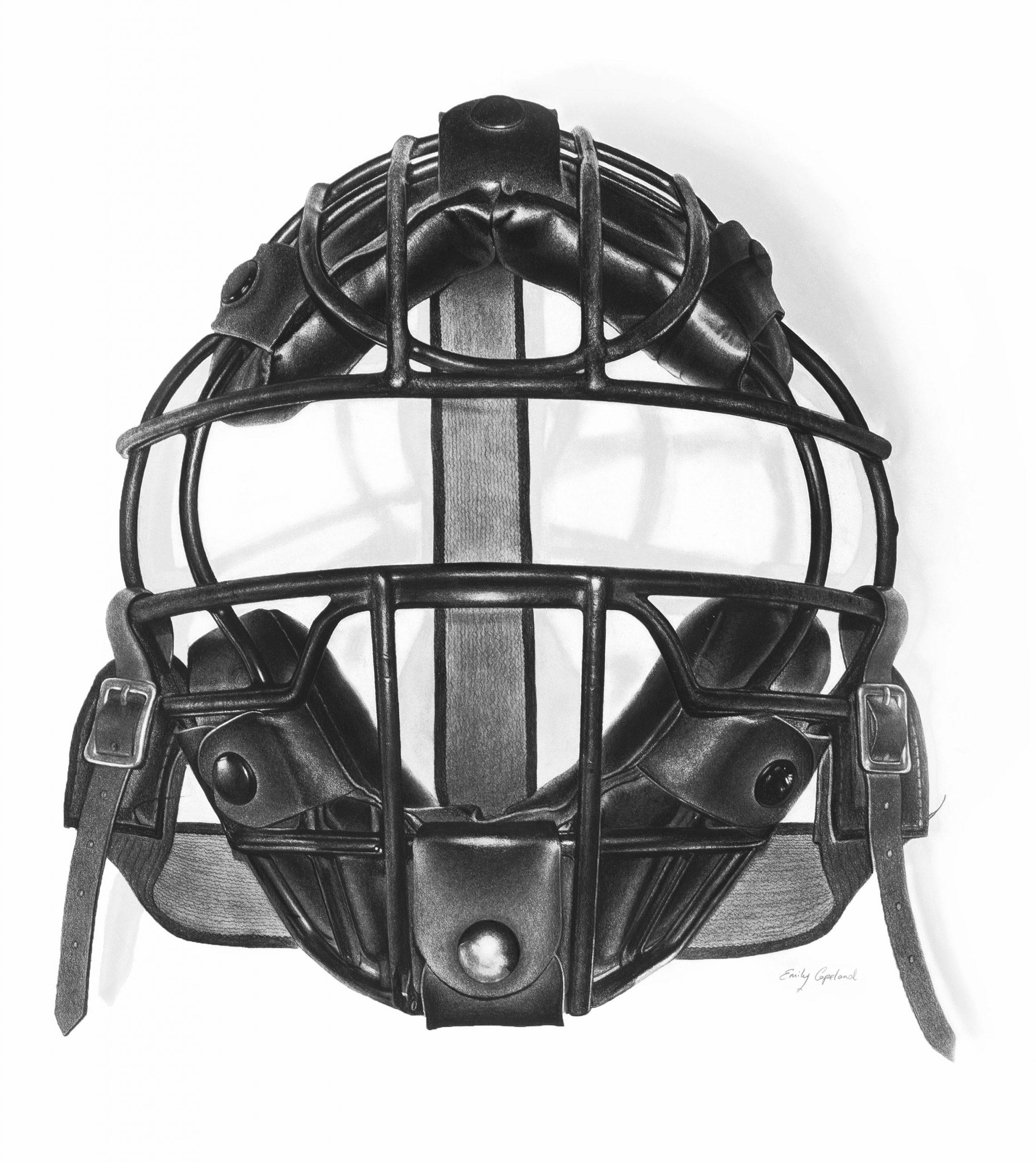 Vintage Baseball Catchers Mask – Emily Copeland