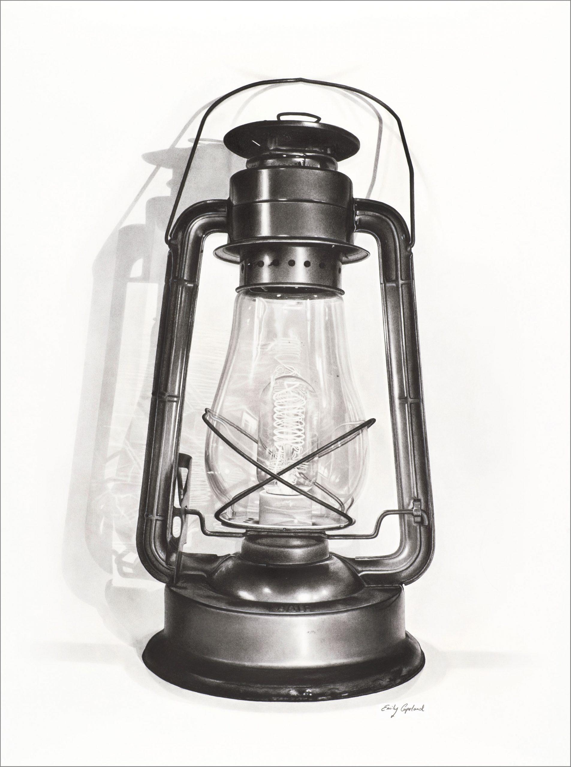 Vintage Lantern – Emily Copeland