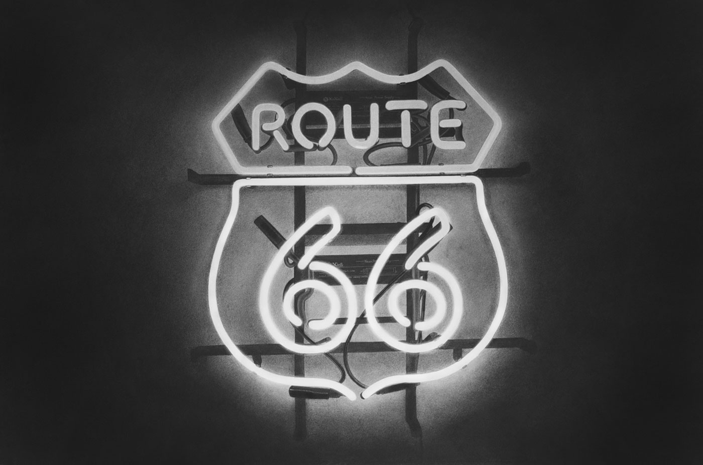 Route 66 Neon Sign – Emily Copeland