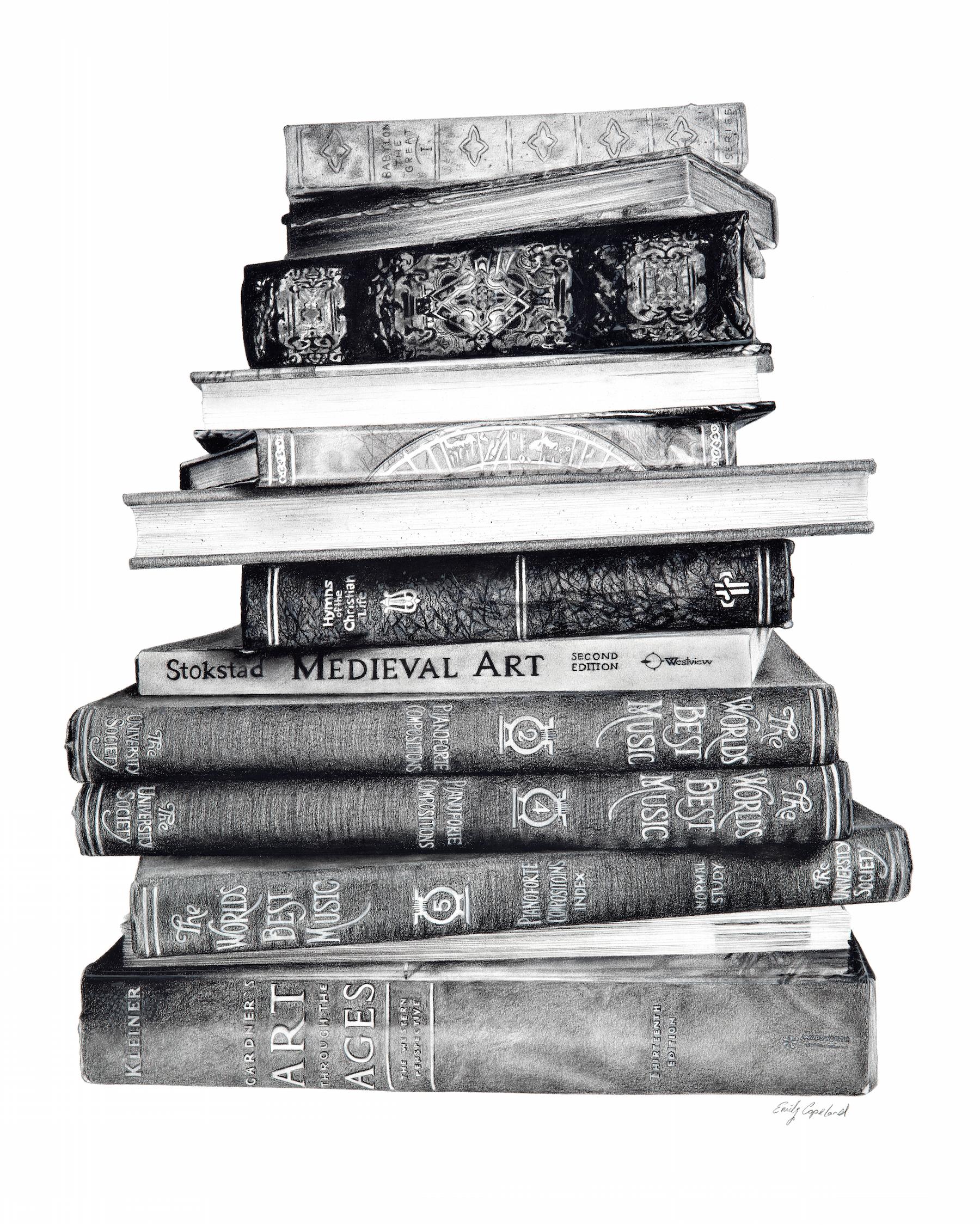 Stack of Books – Emily Copeland