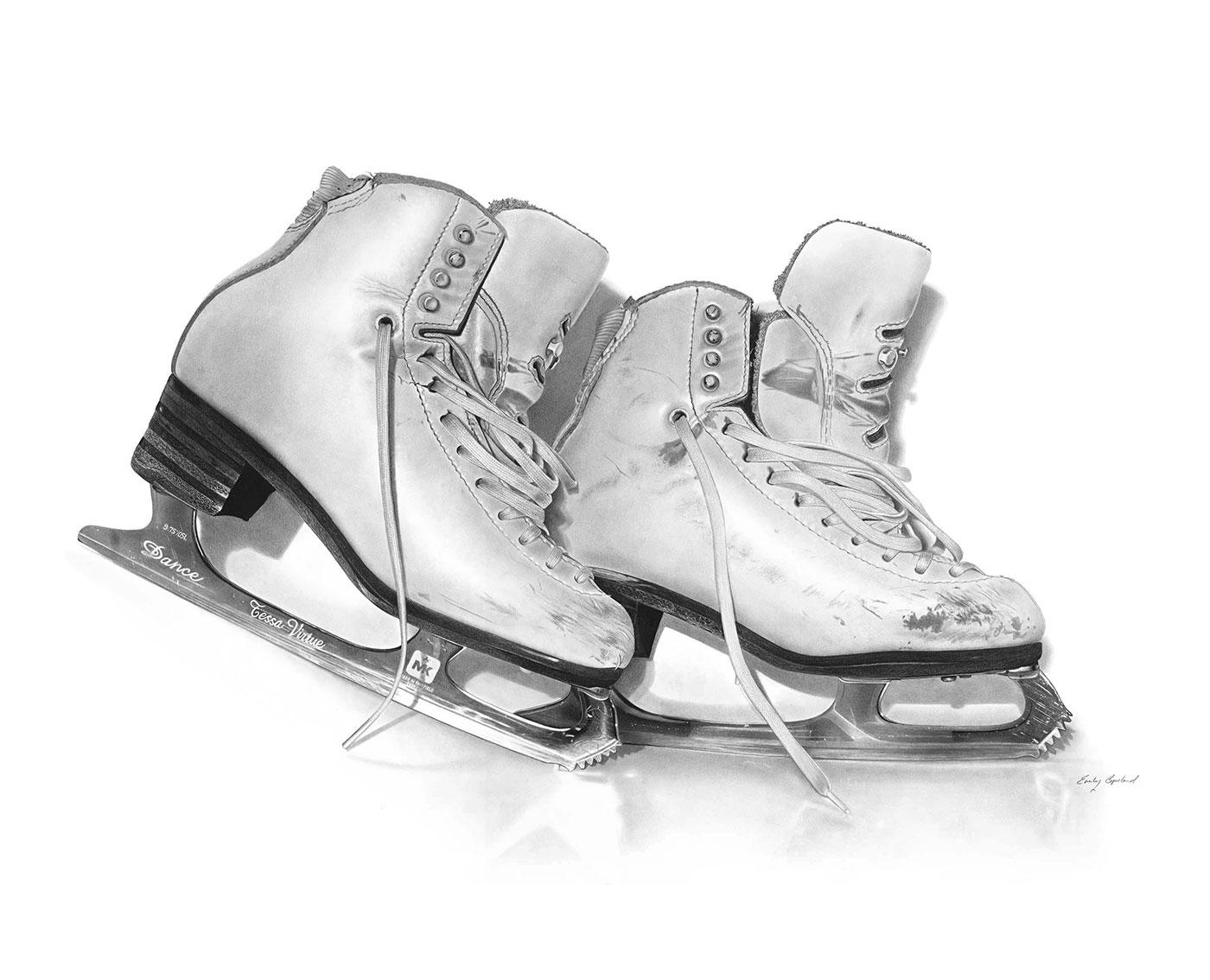 Tessa Virtue's Olympic Skates – Emily Copeland-opt