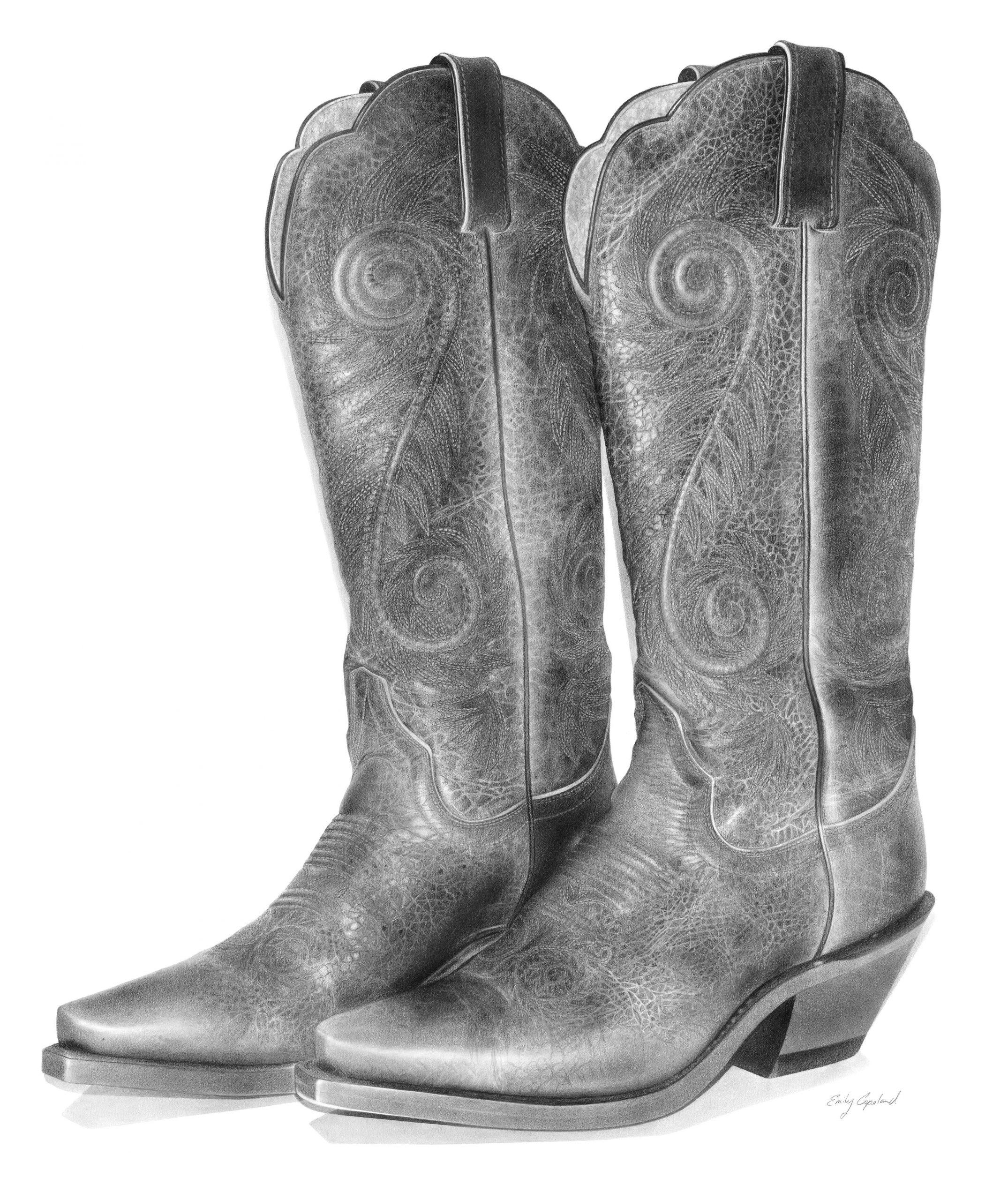 Vintage Cowboy Boots – Emily Copeland