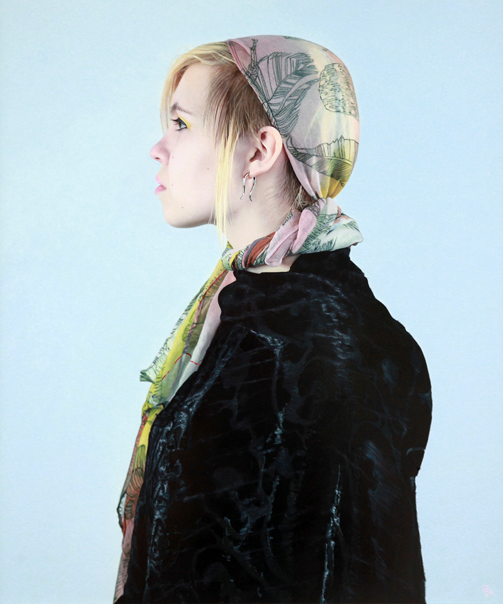Devan in Scarf III – David Eichenberg