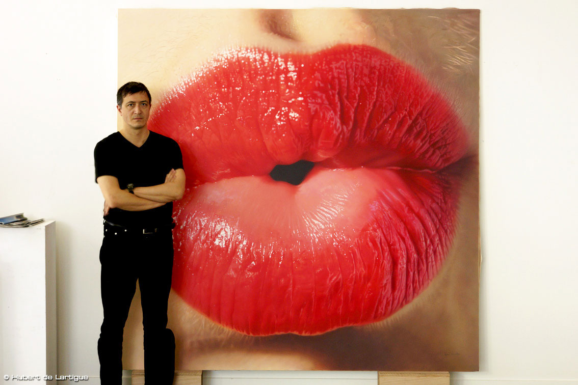 Big Kiss with Hubert de Lartigue