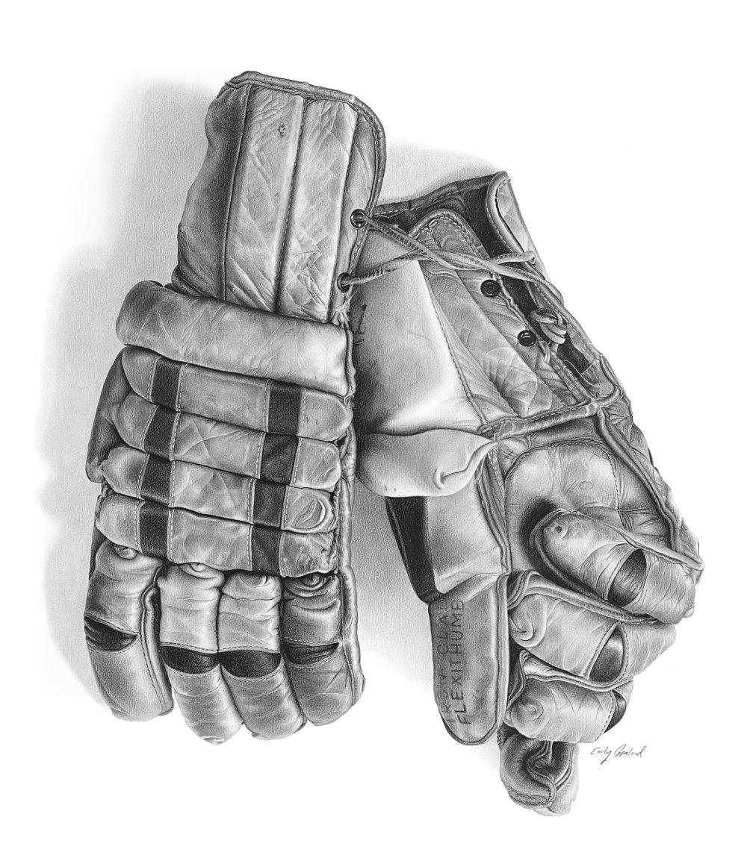 Antique Hockey Gloves – Emily Copeland