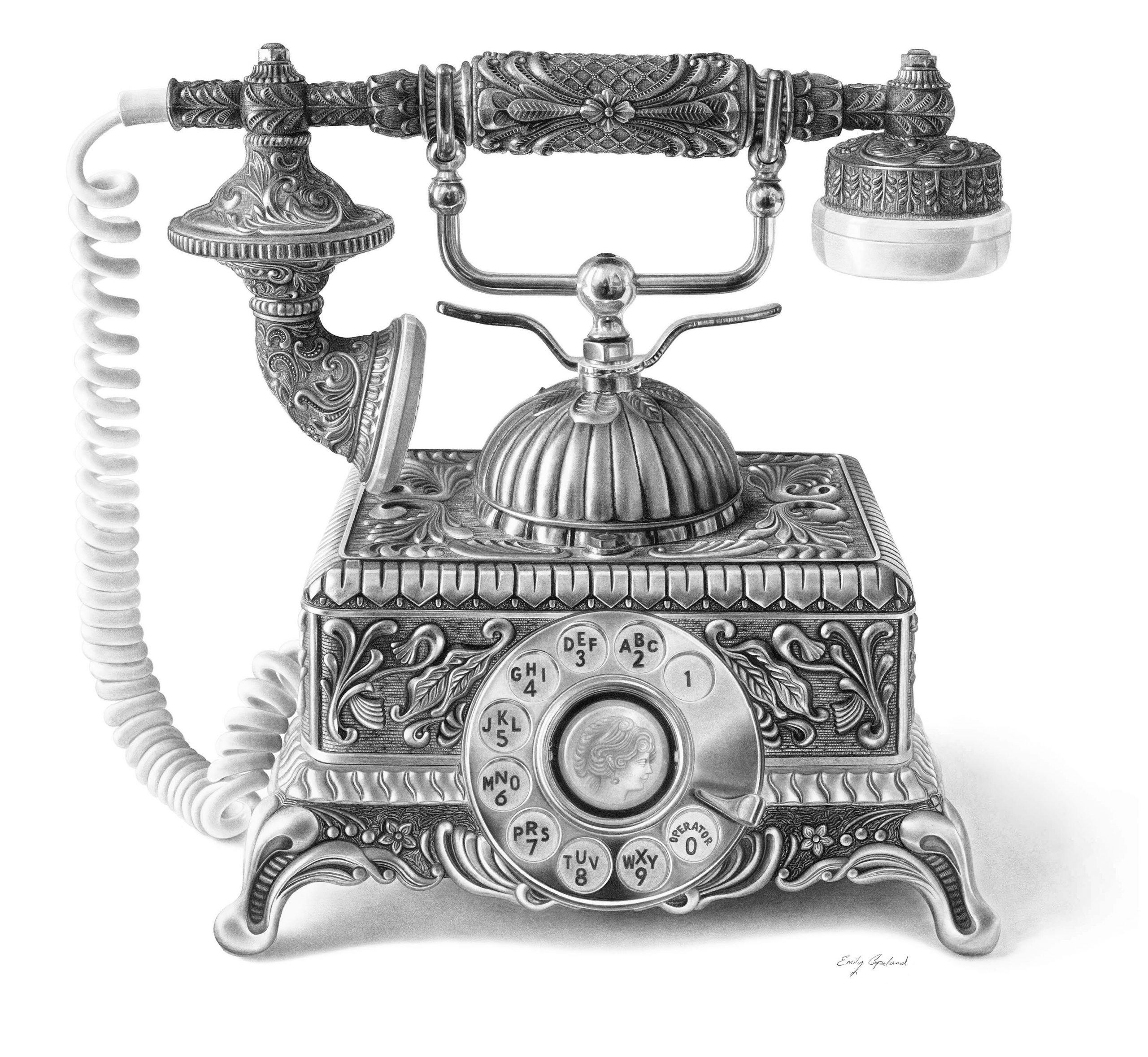 Antique Telephone – Emily Copeland