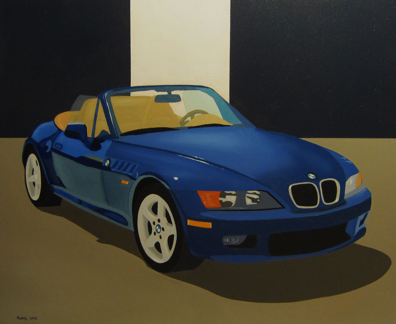 Blue BMW II – Matthew Pierog
