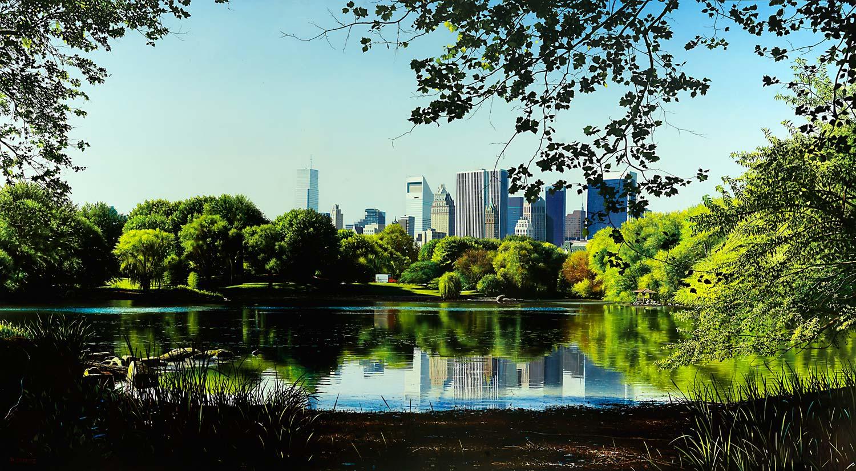 Central Park Lake – Raphaella Spence